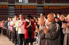 "Gathering to Pray ""In the Name of Love, Wish Everyone Best"" from Groups in Pingtung County"