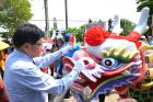 Eye-opening Ceremony is pompously staged for 2017 Pingtung Dragon-boat Contest for the Festival